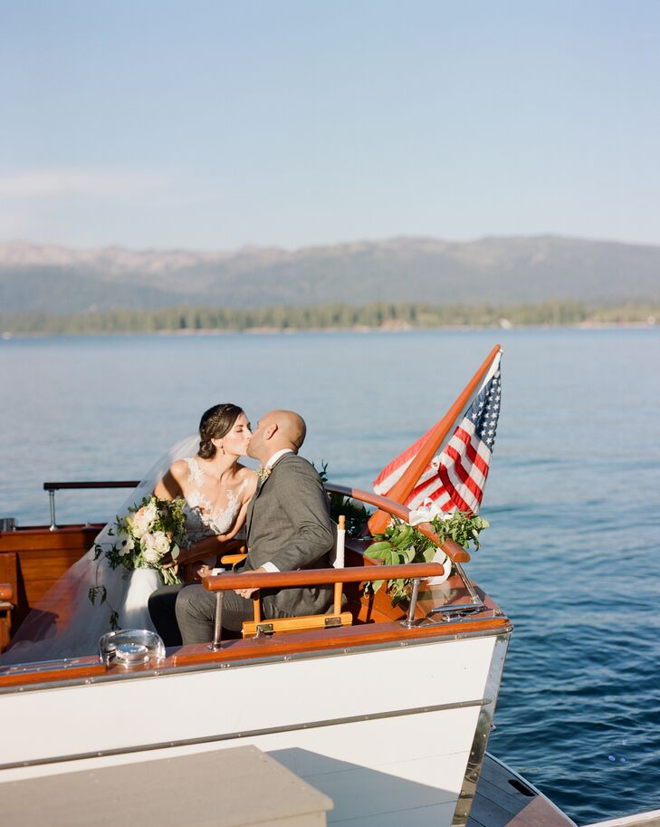 """Many of our guests had never been to McCall, and some were flying in from as far as India to be with us,"" says Amanda, who vacationed on Payette Lake as a child. ""Everything from the decor to the menu and specialty drinks were carefully thought out to show our guests the best aspects of the locale."""