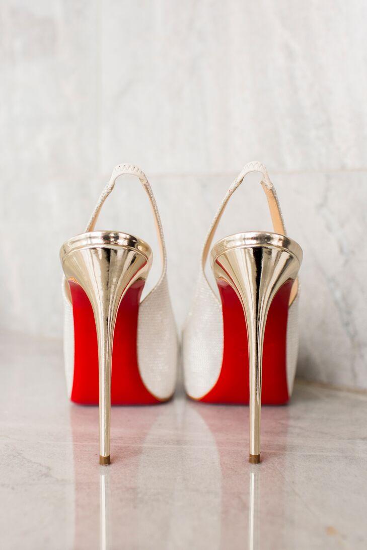 Glam Bridal Heels