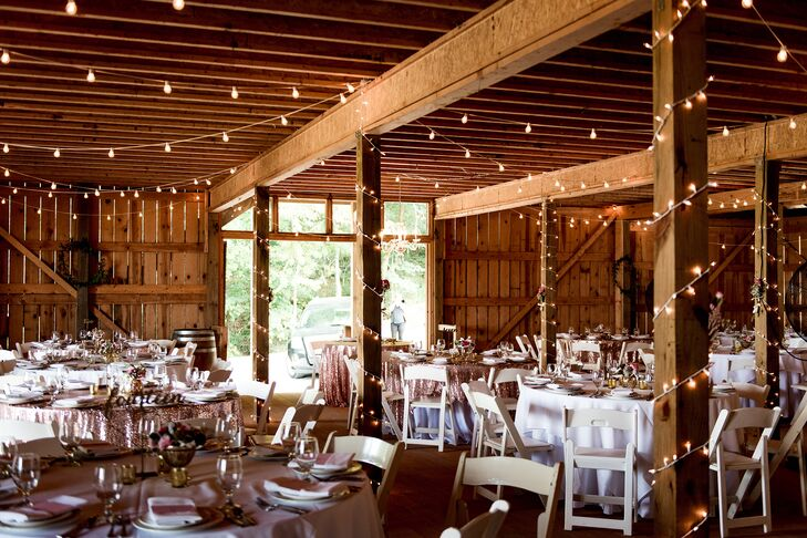 Chaumette Vineyard Barn Reception