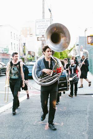 Brass Band Escort