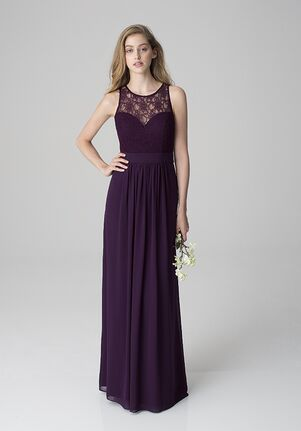 Bill Levkoff 1251 Illusion Bridesmaid Dress
