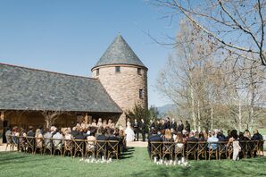 English-Style Barn Ceremony