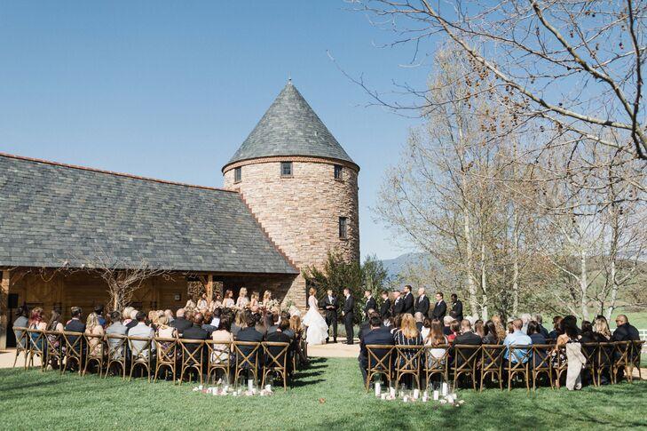 English-Style Barn Ceremony