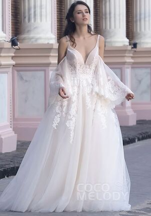 CocoMelody Wedding Dresses LD5365 A-Line Wedding Dress