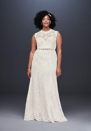 David's Bridal David's Bridal Style 9WG3910 Sheath Wedding Dress
