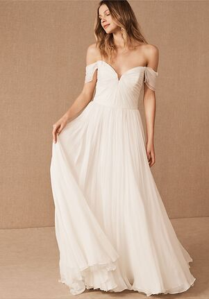 BHLDN Allemande Gown A-Line Wedding Dress