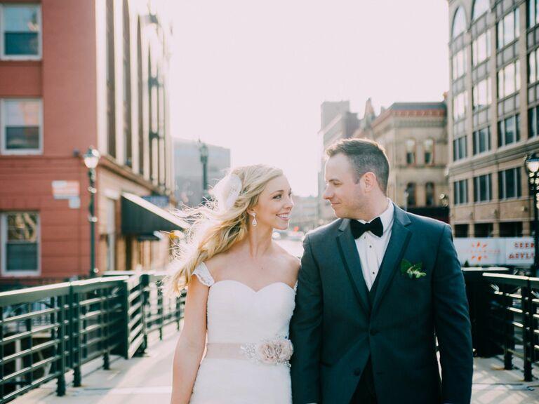 Wisconsin city wedding