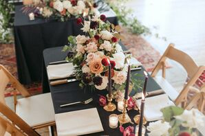 Bold Floral Arrangements at Metropolist in Seattle, Washington