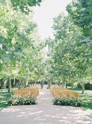Classic Outdoor Ceremony at Kestrel Park in Santa Ynez, California
