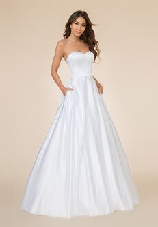 Moonlight Tango T861 A-Line Wedding Dress