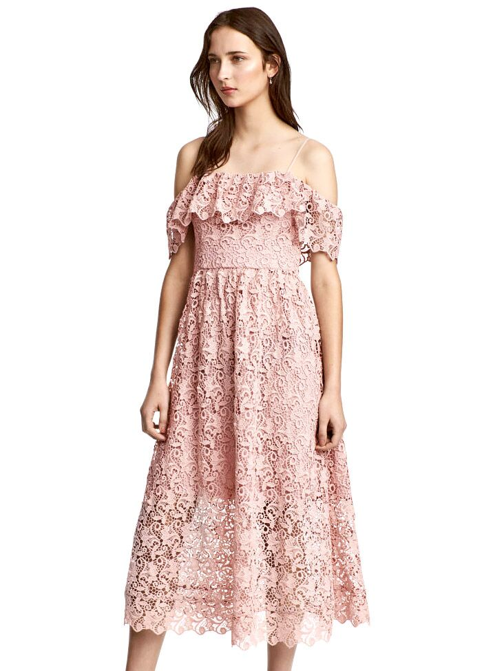 H&M wedding guest dresses for spring