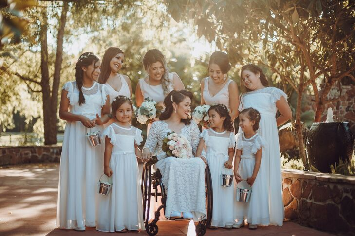 Bridal Party Portraits at Madera Estates in Conroe, Texas