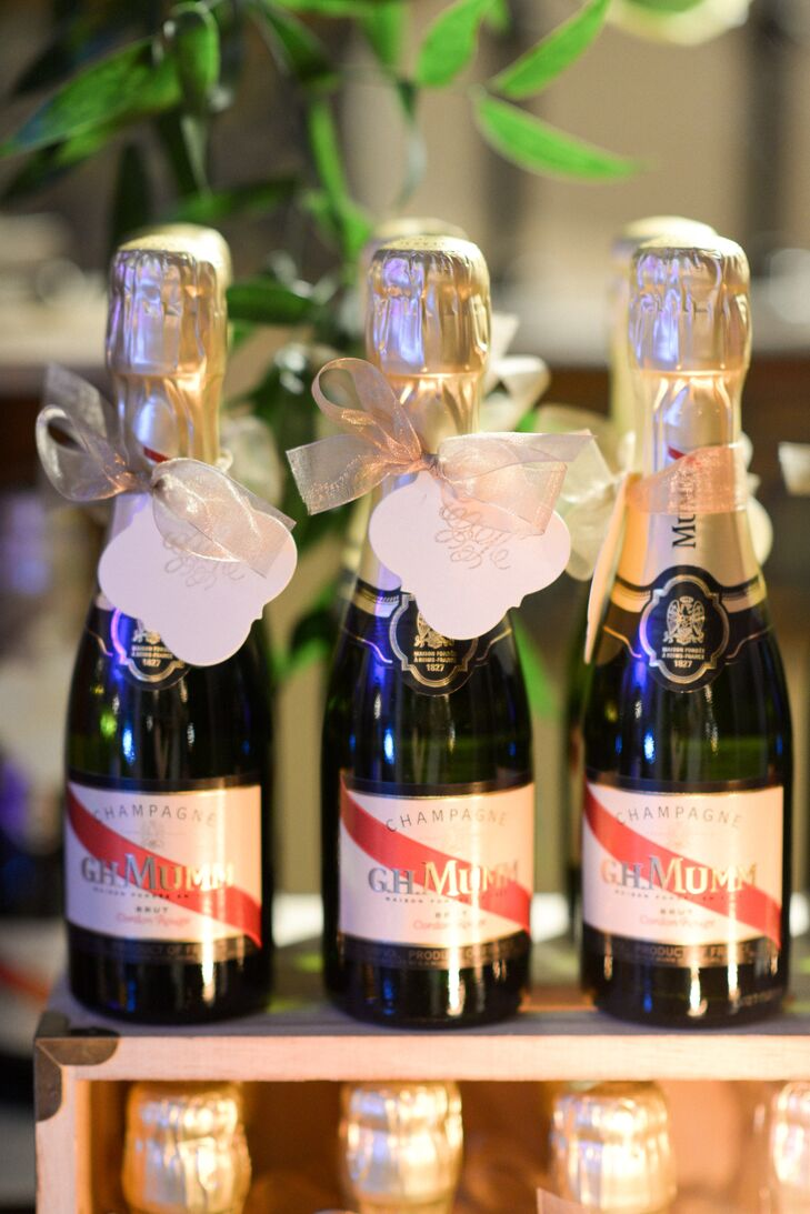 Miniature Champagne Party Favors