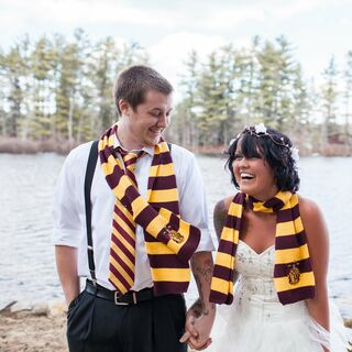 Harry Potter-Themed Wedding in New Hampshire