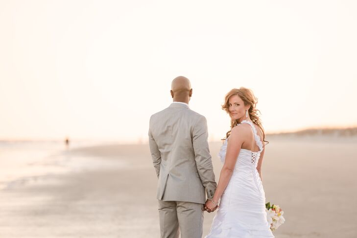 Bethany Phalen (32 and a medical device clinical specialist) and Ali Cowan (37 and a medical device sales representative) wanted their wedding to take