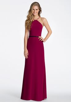 Hayley Paige Occasions 5611 Halter Bridesmaid Dress