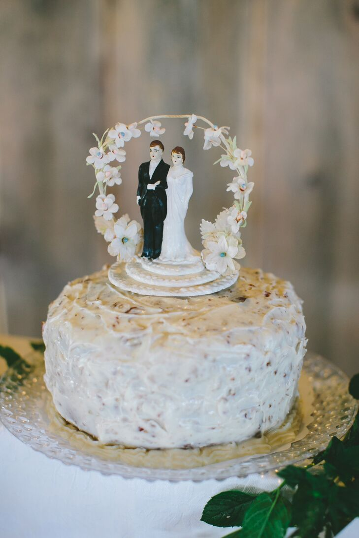 Vintage Heirloom Cake Topper