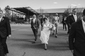 Custom Wedding Dress With Vintage Lace