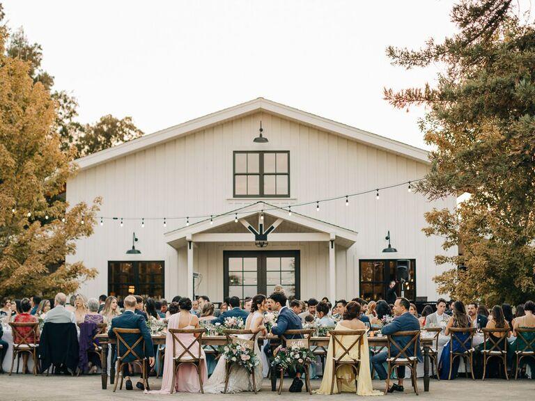 California wedding venue in Winters, California.