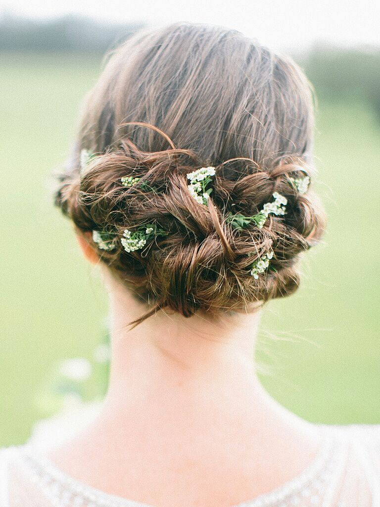 24 Romantic Updo Ideas For Bridesmaids