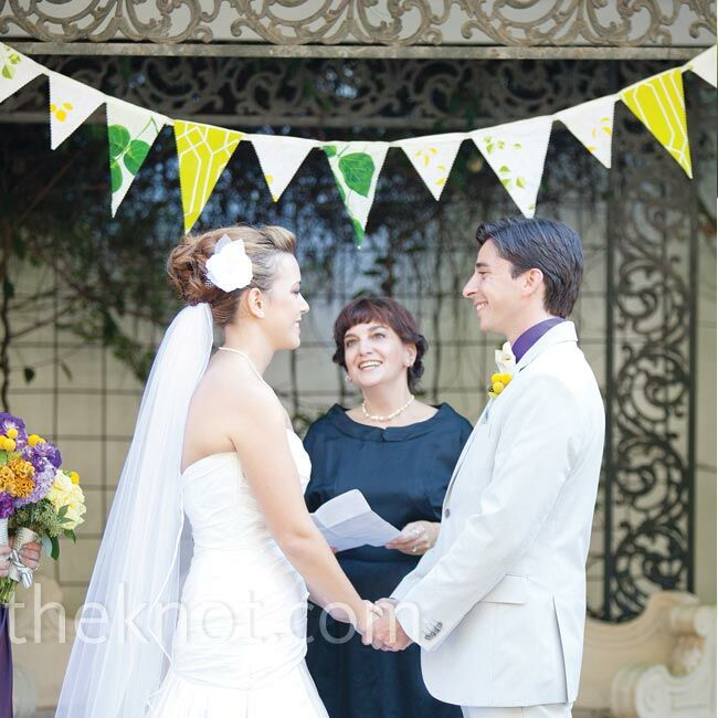 The Bride Andrea Gray, 25, merchandise presentation lead at Banana Republic and owner of AGH Event Maker The Groom Jonathan Harper, 27, occupational t