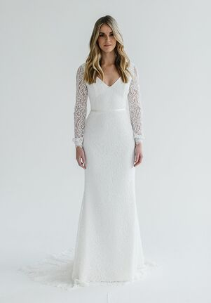 KAREN WILLIS HOLMES Valencia Sheath Wedding Dress