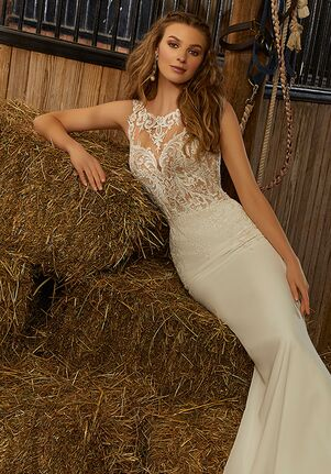 Morilee by Madeline Gardner/Voyage Rebel | 6912 Sheath Wedding Dress