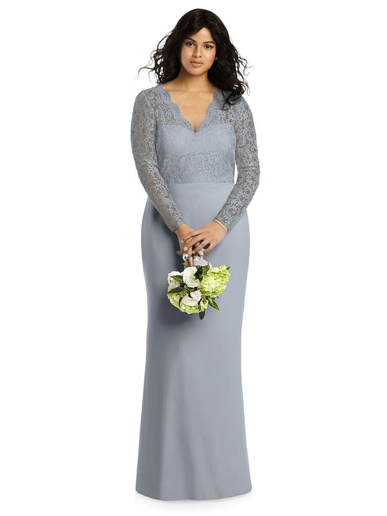 c0290003cf 40 Plus-Size Bridesmaid Dresses That Are Truly Stunning