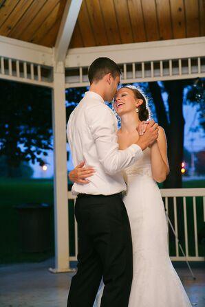 Newlywed First Dance in the Gazebo