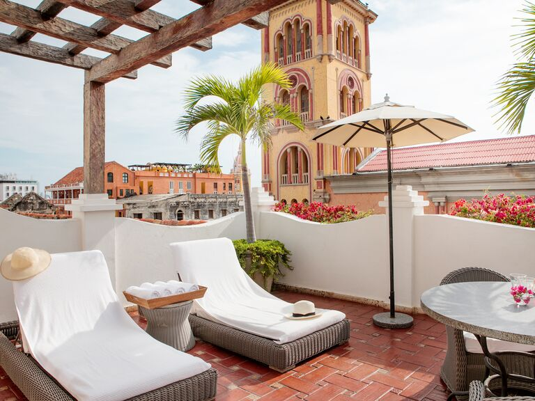 Casa San Agustin hotel in Cartagena, Colombia