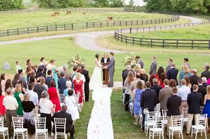 Rixey Manor Outdoor Ceremony