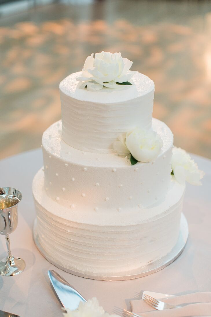 Simple Three Tier White Cake
