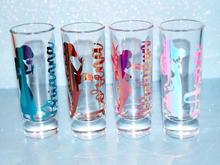 Disney shot glasses bachelorette party