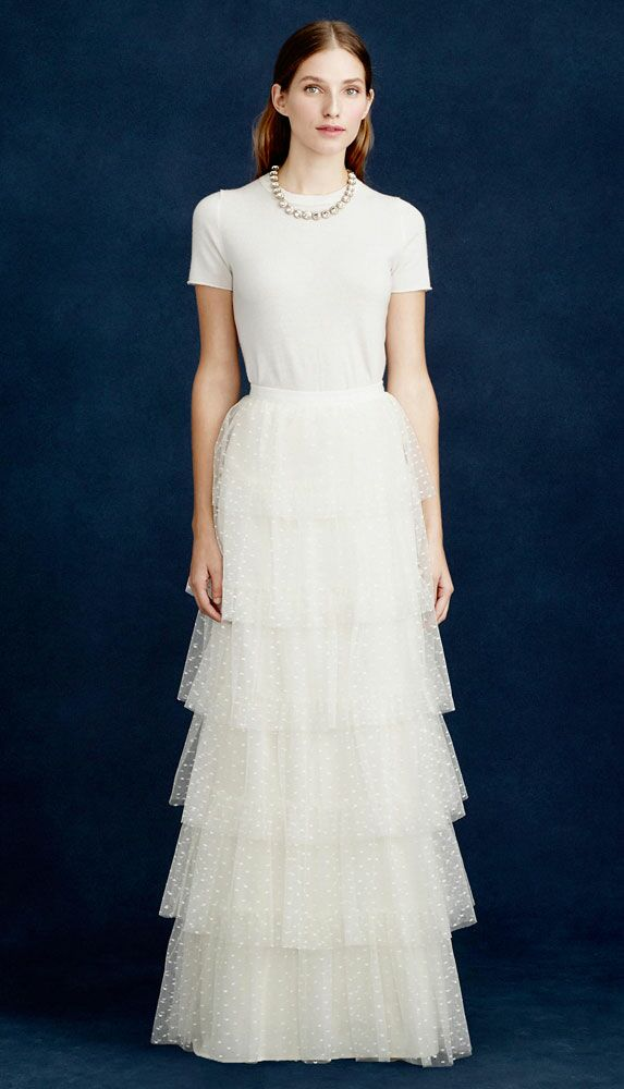 JCrew Heidi Casual Beach Wedding Dress