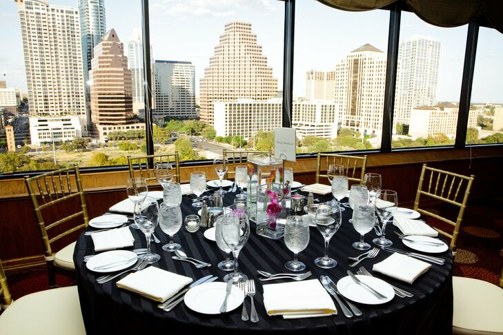 Hyatt Regency Austin Reception Table