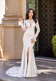 Val Stefani GADOT Mermaid Wedding Dress