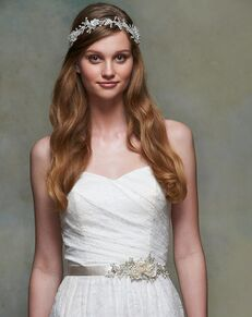 Blossom Veils & Accessories BA4452 Ivory Sashes + Belt
