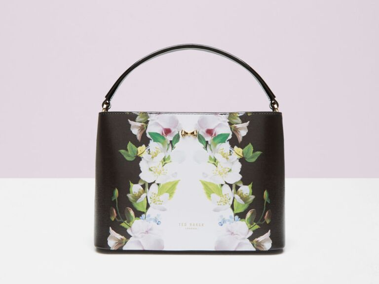 Ted Baker Baila Forget Me Knot Leather Tote Bag
