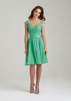 Allure Bridesmaids 1462 V-Neck Bridesmaid Dress