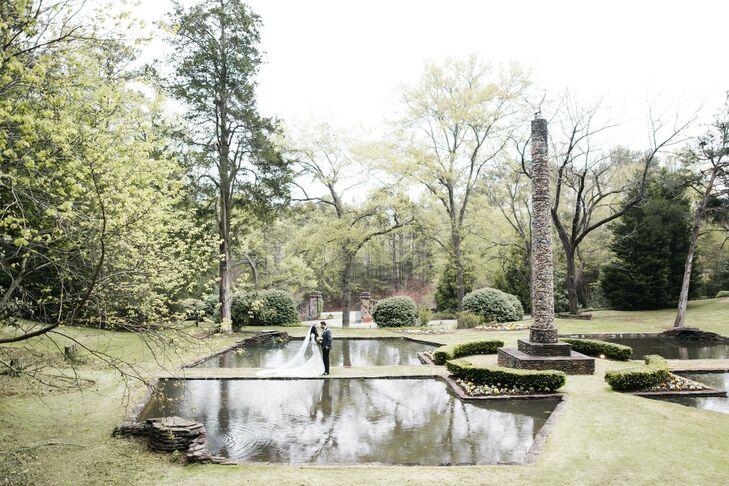 Ponds at Dunaway Gardens in Newnan, Georgia