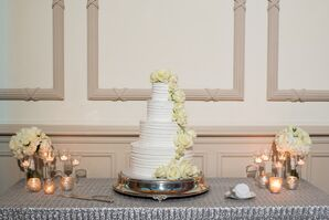 Tiered Buttercream Cake with Cake Flowers