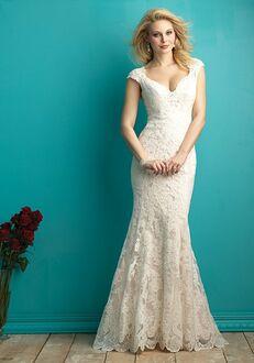 Allure Bridals 9264 Sheath Wedding Dress