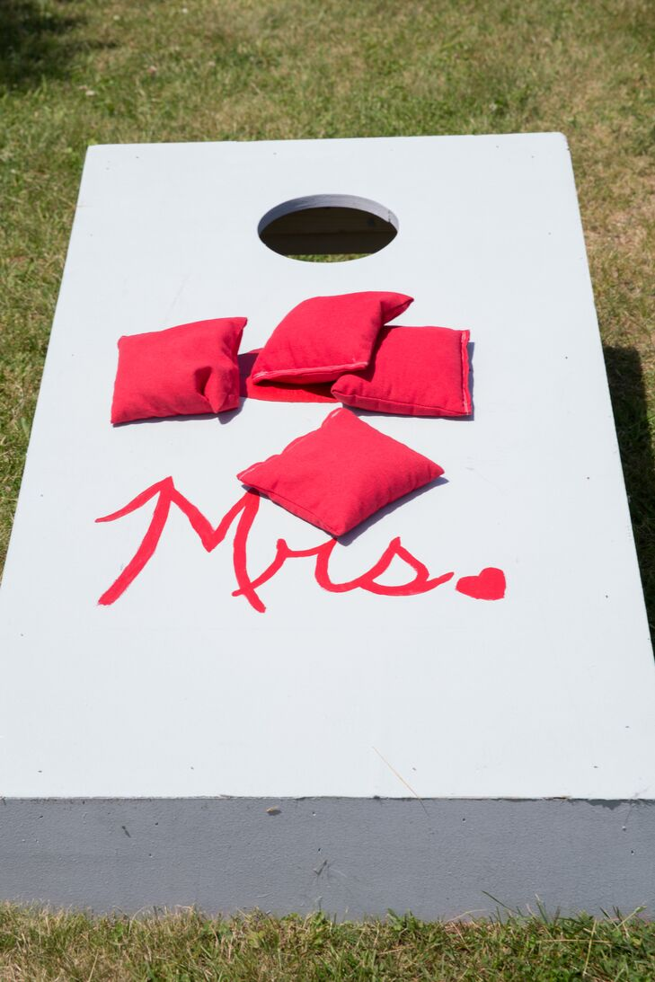 DIY 'Mrs.' Bean-Bag Game