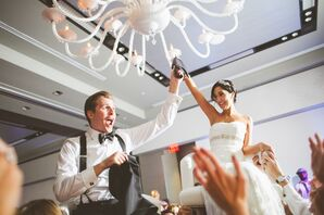 Dancing the Hora at W Austin Hotel