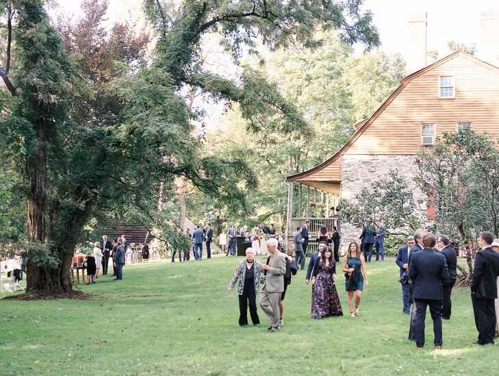 Rustic Cocktail Hour at Mount Gulian Historic Site in Beacon, New York