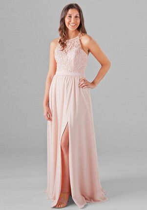 Kennedy Blue Madeline Halter Bridesmaid Dress