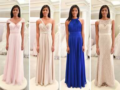 The Knot Dream Wedding bridesmaid dresses