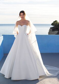 WHITE ONE EVERLASTING Ball Gown Wedding Dress
