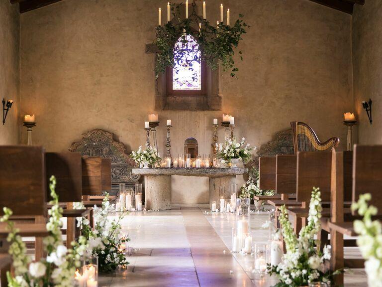 Wedding venue in Vista, California.