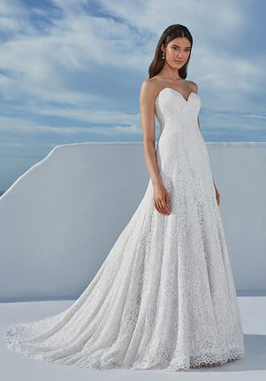 Justin Alexander Bethany A-Line Wedding Dress